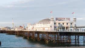 Dzieci i mlodziez, Anglia, Brighton, wycieczka, zwiedzanie