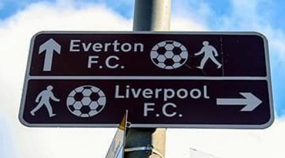 Wspólne wyjście na mecze Liverpool lub Everton po lekcji angielskiego